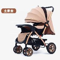 Factory Sale Reversible Foldable Baby Trolley Baby Stroller Baby Carriage with Bigger Rubber Wheel (SF-S9912)